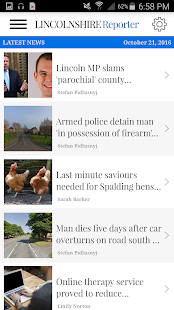 Lincolnshire Reporter- screenshot thumbnail