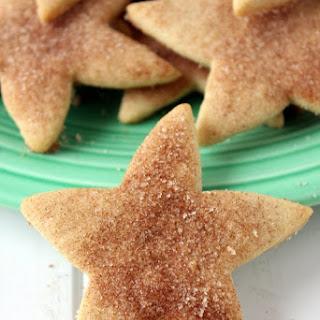 Christmas Cinnamon Star Shortbread Cookies Recipe