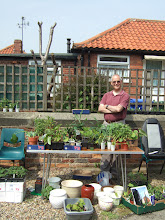 Photo: Brian with my favourite plant stall