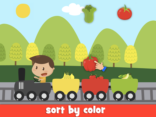 Learn fruits and vegetables - games for kids  screenshots 12