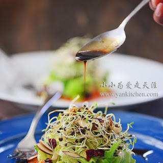 Lentil Bean Sprouts Salad