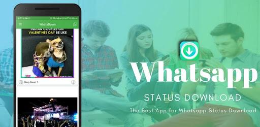 Descargar Whatsdown Best App For Whatsapp Status Download