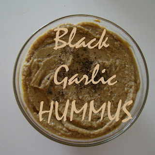 Black Garlic Hummus