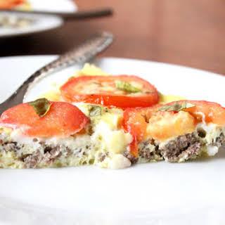 Italian Sausage Frittata.