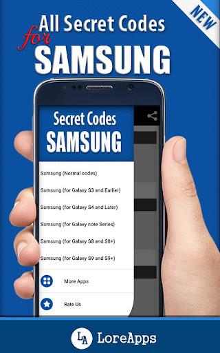 Download All Secret Codes for Samsung Mobiles APK | APKTOEL