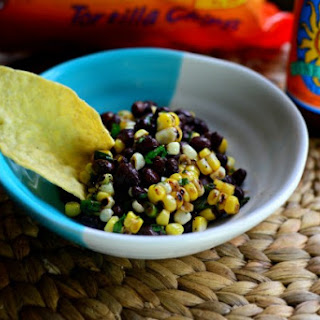 Grilled Corn + Black Bean Salad