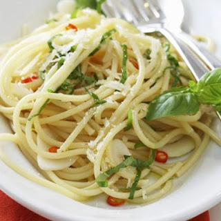 Pasta With Olive Oil Garlic And Parmesan Recipes