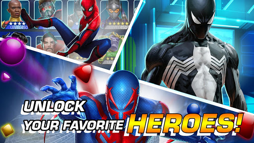MARVEL Puzzle Quest: Join the Super Hero Battle! 204.531444 screenshots 17