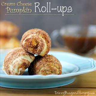 Cream Cheese Pumpkin Rollups