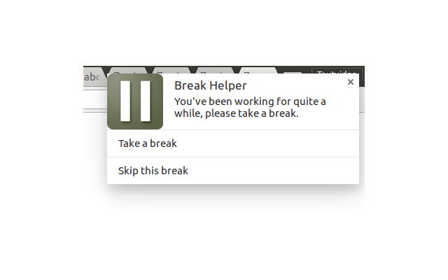 Break Helper