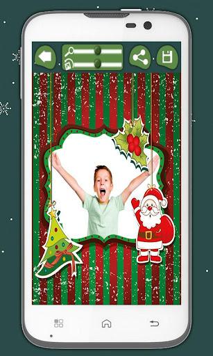 子供のためのクリスマスフレーム