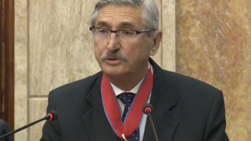 El juez Diego Alarcón