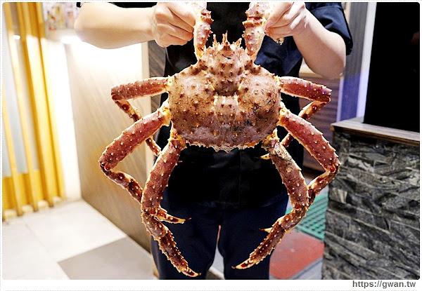 台中超狂帝王蟹四吃,還有爆濃蟹膏粥,隱藏版蟹霸王套餐每日限量四組,沒預訂吃不到!