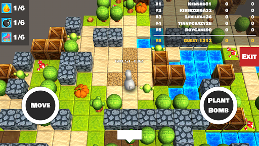Bomber Arena: Bombing with Friends screenshot 1