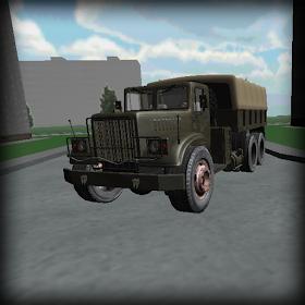 KRAZ simulator
