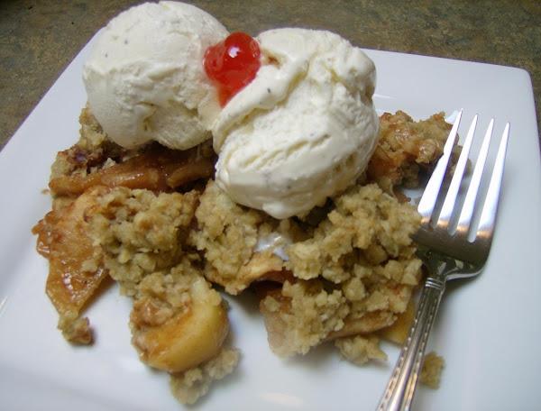 Dan's Father's Day Apple Crisp Recipe