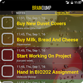 BrainDump To Do Lists & Notes!