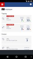 Screenshot of Footytips