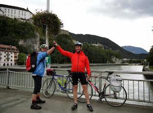 Photo: In Kufstein werden die Drahtesel gesattelt und wir rollen aus eigener Kraft Richtung Innbruck.