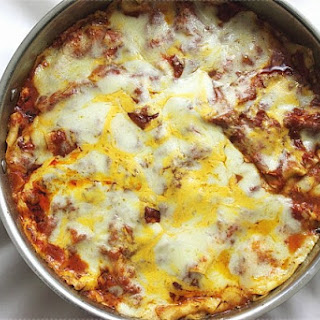 : Skillet Lasagna
