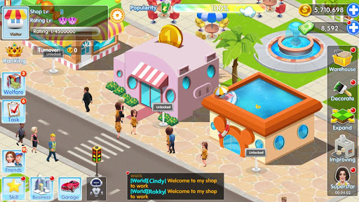 My Supermarket Story : Store tycoon Simulation apkdebit screenshots 23