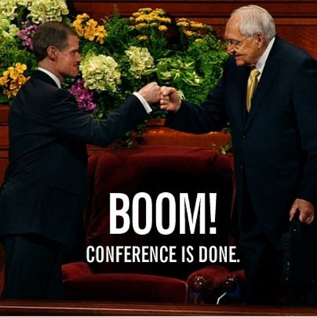 mormon general authorities knuckle punch