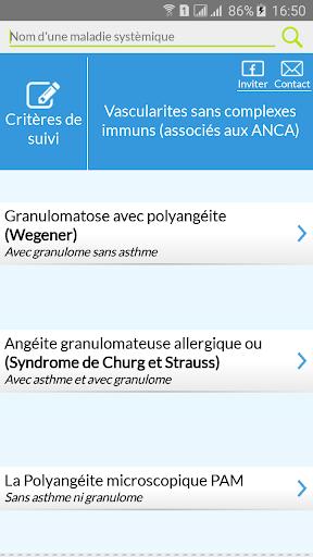 玩醫療App|Maladies de système : Critères免費|APP試玩
