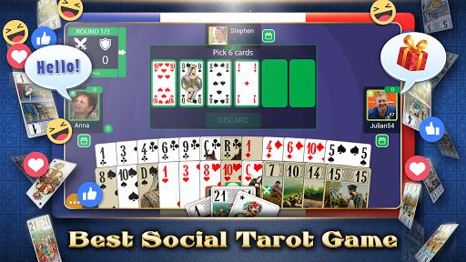 VIP Tarot - Free French Tarot Online Card Game 3.6.17 screenshots 1