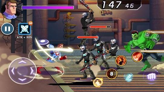 Captain Revenge – Fight Superheroes MOD (Free Purchase) 3