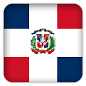 Selfie Dominican Republic flag