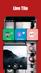 SquareHome 2 - Launcher: Windows style Mod