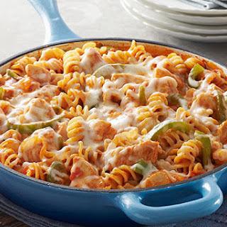 Chicken-Pasta Skillet.