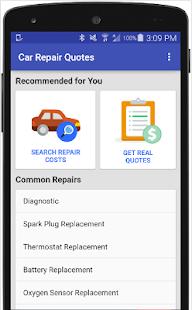 Car Repair Labor Estimate App