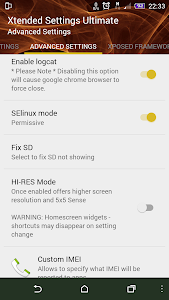 Xtended Settings screenshot 6
