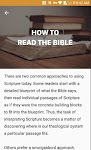 screenshot of Bible Study - Study The Bible By Topic