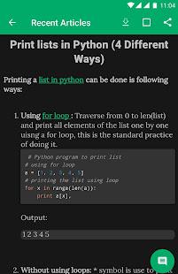 Programming Algorithms - AppRecs
