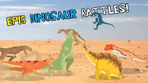 T-Rex Fights Dinosaurs Screenshot