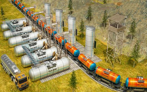 Indian Train City Pro Driving- Oil Tanker Train  screenshots 7