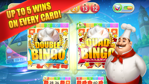 Bingo Cooking - Multiplayer Free Live BINGO Games 3.3.1 screenshots 1