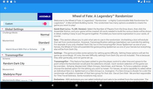 Wheel Of Fate: A Legendary Randomizer 1.4.2 screenshots 8