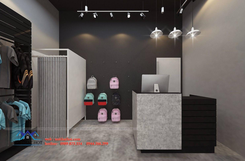 thiết kế shop thời trang adidas 7