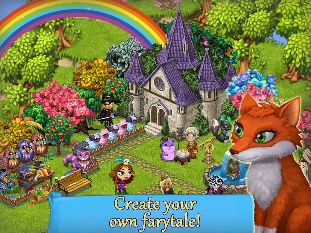 Fairy Farm - Games for Girls- screenshot