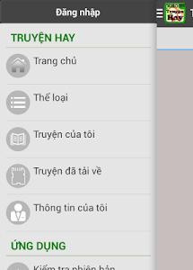 THE GIOI TRUYEN - TRUYEN HAY screenshot 1