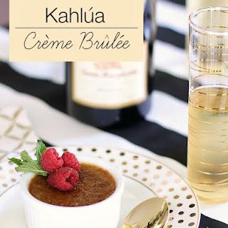 Kahlua Creme Brulee.