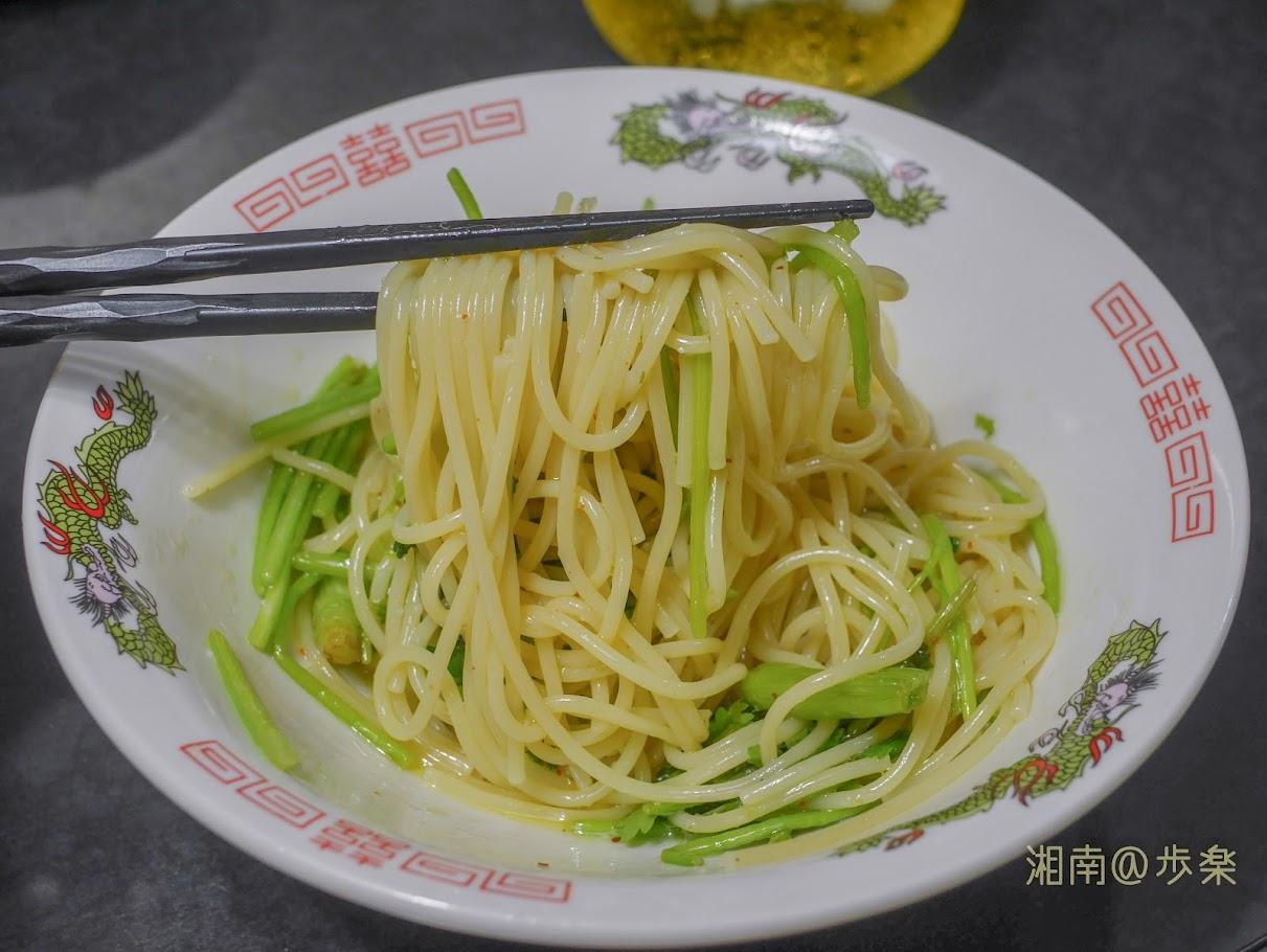 パクチーのペペロンチーノ MAKBEL Spaghetti No.6 パスタ