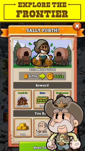 Idle Frontier: Tap Town Tycoon filehippodl screenshot 17