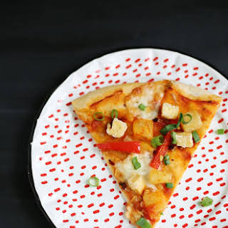 Pineapple Fried Rice Pizza July 03, 2014.