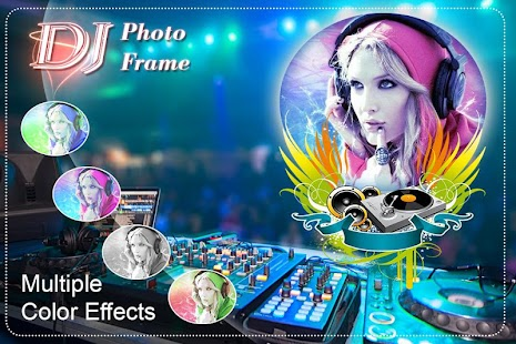 DJ Photo Frame: DJ Music Photo - náhled