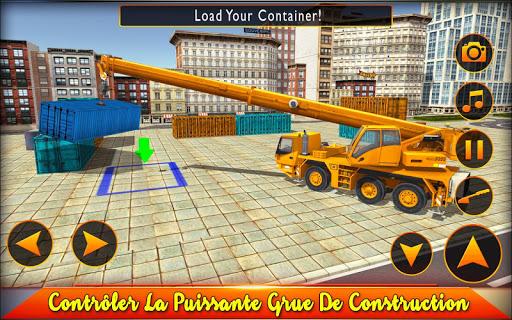 Lourde Grue Simulateur 2018 - Construction Sim  captures d'écran 1