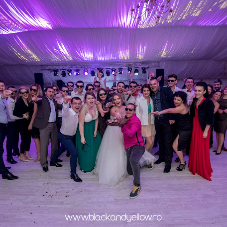 Wedding photographer Sabin Neacsa (blackandyellow). Photo of 22.11.2016